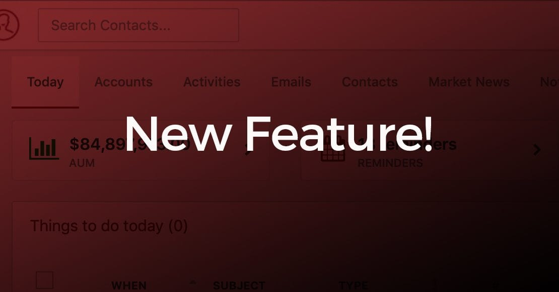 New Feature announcement