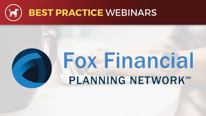 Fox Financial best practice webinar